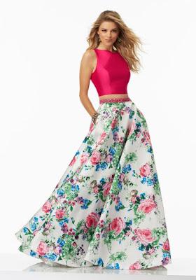 Faldas largas de moda
