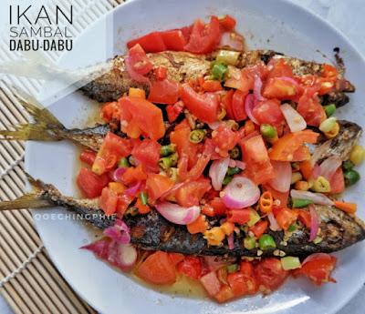 Resep dan Cara Membuat Ikan Kembung Sambal Dabu-Dabu
