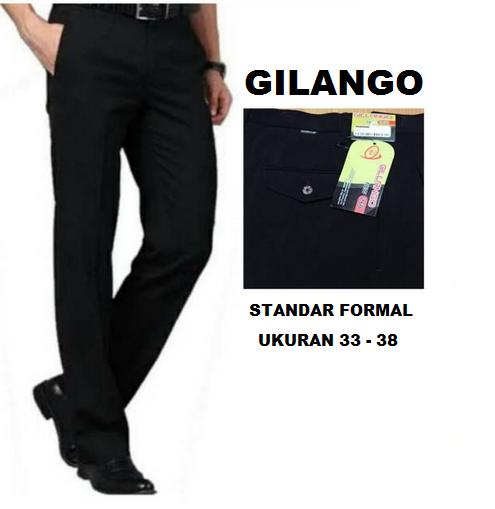 Celana Gilango Hitam 33-38