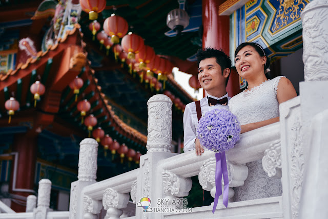 Chinese Wedding ROM at Thean Hou Temple 天后宫