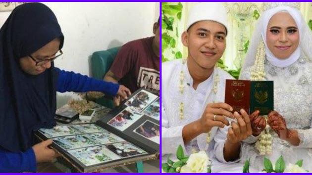 Kisahnya Bak Sinetron FTV, Pernikahan Seorang Guru dan Murid Ini Viral di Media Sosial, Sang Mempelai Pria Baru Berusia 19 Tahun!
