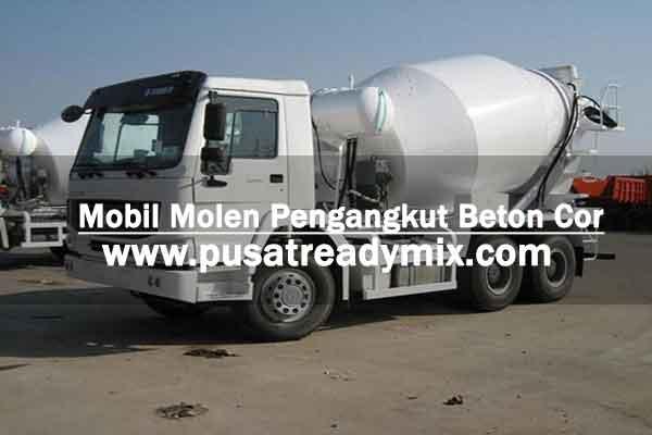 Mobil Molen Cor, Mobil Truck Molen Cor Beton, Mobil Truck Molen Pengangkut Beton Cor