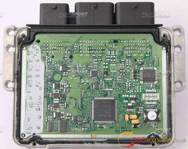 Solved!  KTM Bench identified Bosch MEDC17 ECU failure 6