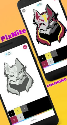 تحميل لعبة التلوين PixNite – Color by number