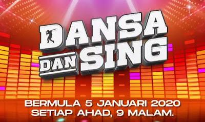 Senarai Biodata Peserta Dansa Dan Sing 2020