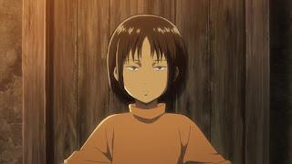 進撃の巨人アニメ | ユミル 幼少期 | YMIR Childhood | CV.藤田咲 | Attack on Titan | Hello Anime !