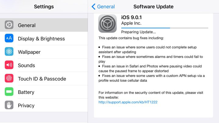 How To Download And Install iOS 9 0 1 On iPhone - iPhone iOS 7 0 3