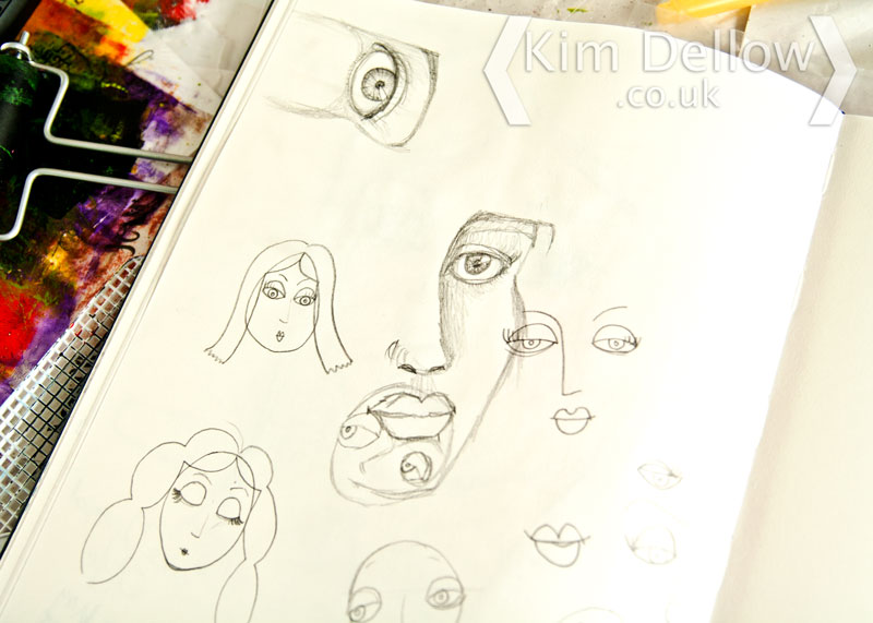 More face doodling
