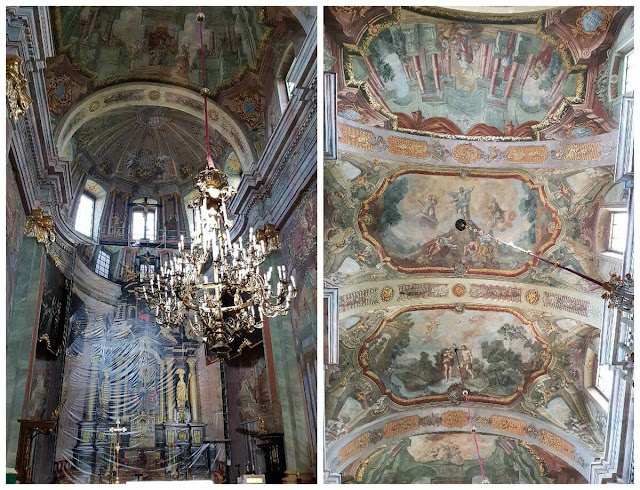 La catedral de Lublin interior