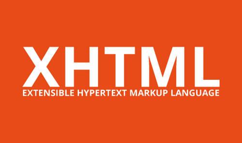 Pengertian XHTML dan Fungsinya