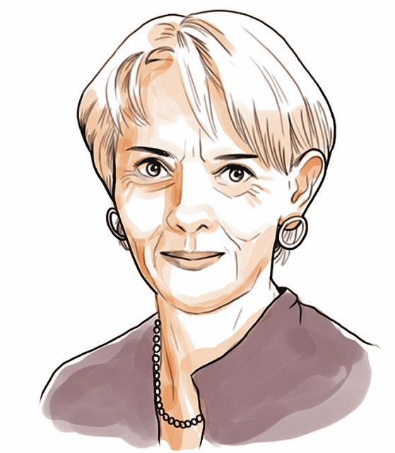 Lucy Kellaway, the Aged Adolescent.