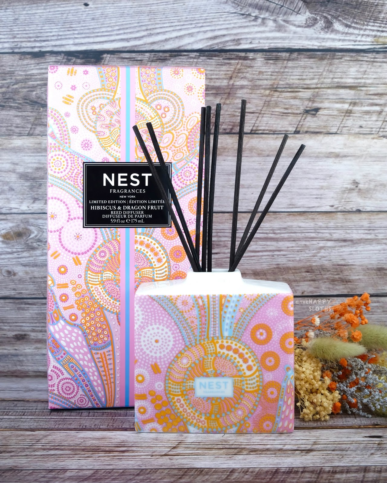 NEST Fragrances | Hibiscus & Dragonfruit Reed Diffuser: Review