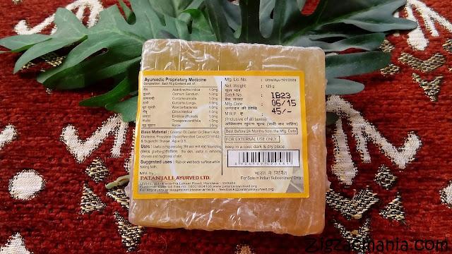 Patanjali Lemon Body Cleanser: Shelf life