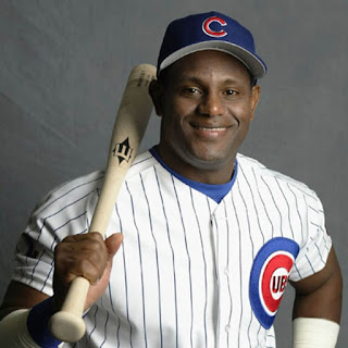 Sammy Sosa white skin Color