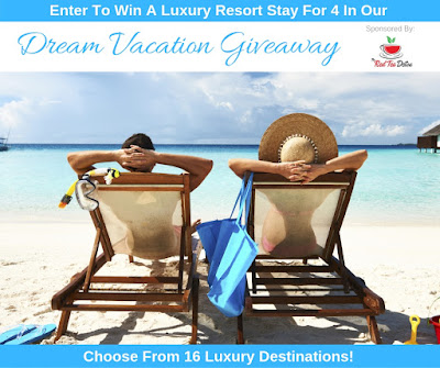 Enter the Dream Vacation #Giveaway. Ends 10/31. Open US/CA
