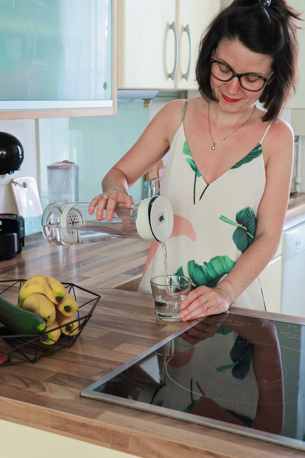 cuisine brita maison décoration déco intérieure carafe filtrante les gommettes de melo propriétaire shein