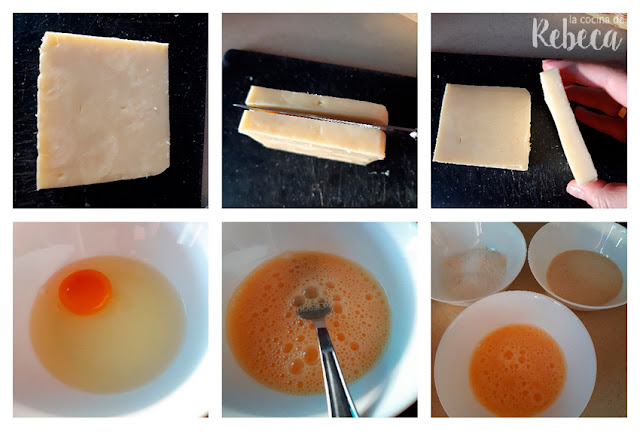 Receta de gofres de queso: preparación