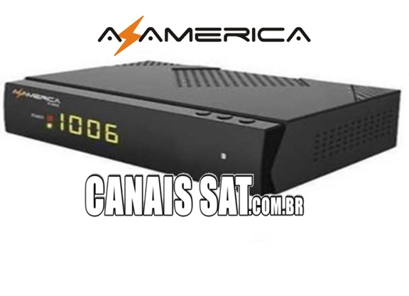 Azamerica S1006 HD Nova Atualização V1.09.21658 - 22/06/2020