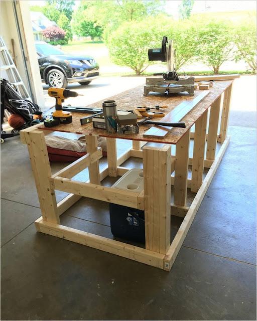 garage workbench ideas plans pictures