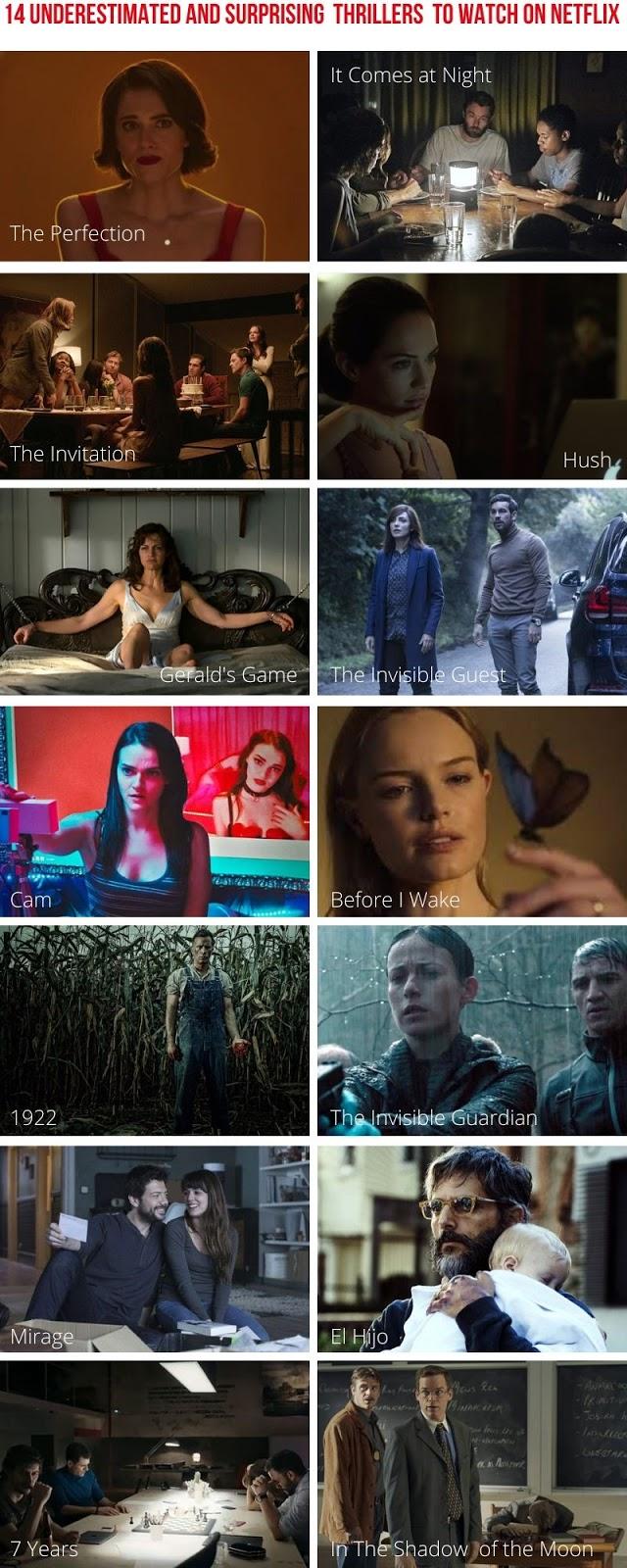 14 Thrillers Surpreendentes Mas Pouco Conhecidos Para Ver na Netflix