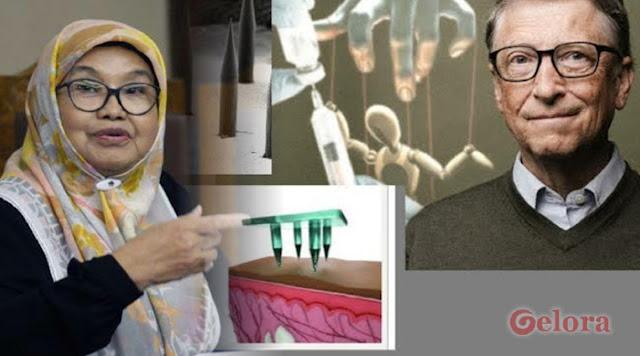 Diduga Dipasang Microchip, Eks Menkes Siti Fadilah: Jangan Beli Vaksin Corona Buatan Bill Gates