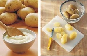 Mặt nạ khoai tây giúp da luôn căng bóng mịn màng