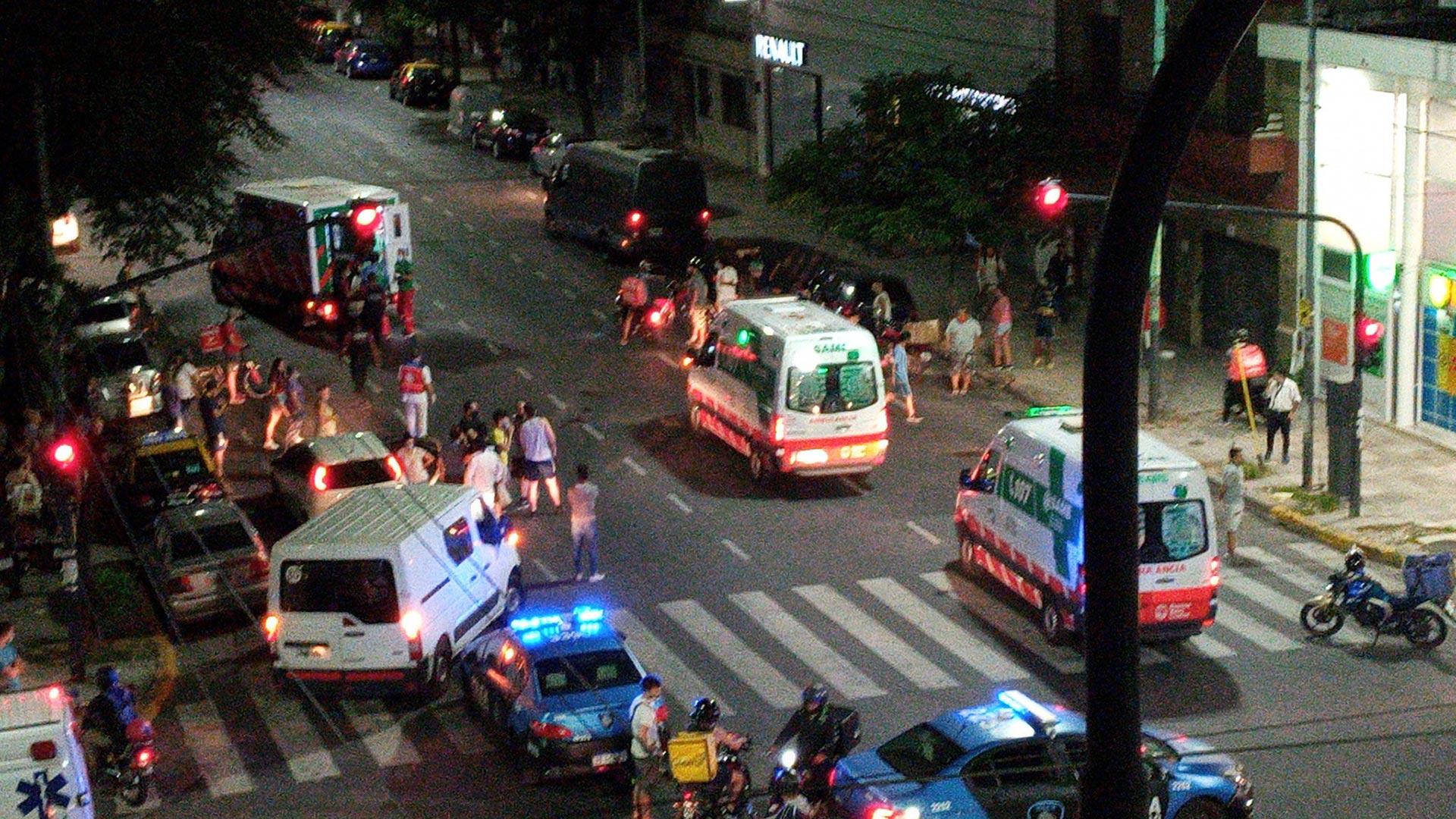 Flores: un nene de 5 años murió al ser atropellado junto a su madre y el conductor se fugó