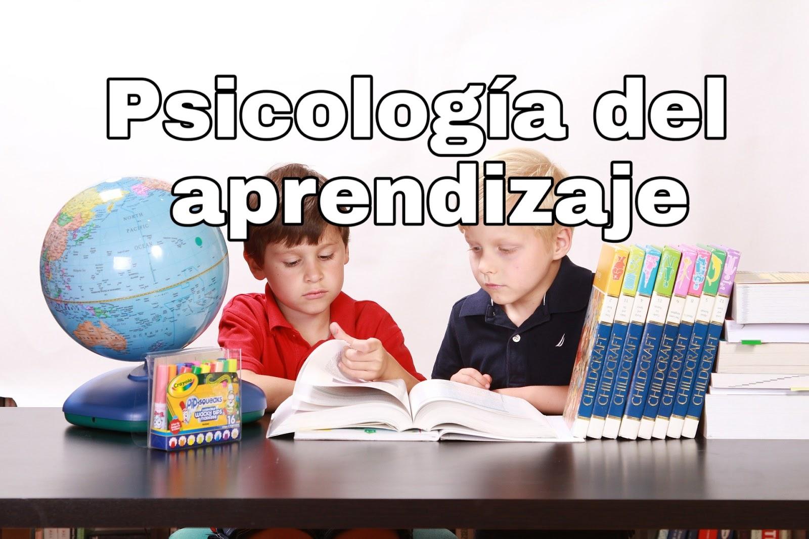 Psicología del aprendizaje. PDF