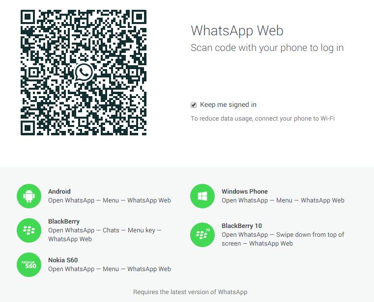 cara instalasi whatsapp di dekstop PC laptop, tahapan instalasi whatsapp web
