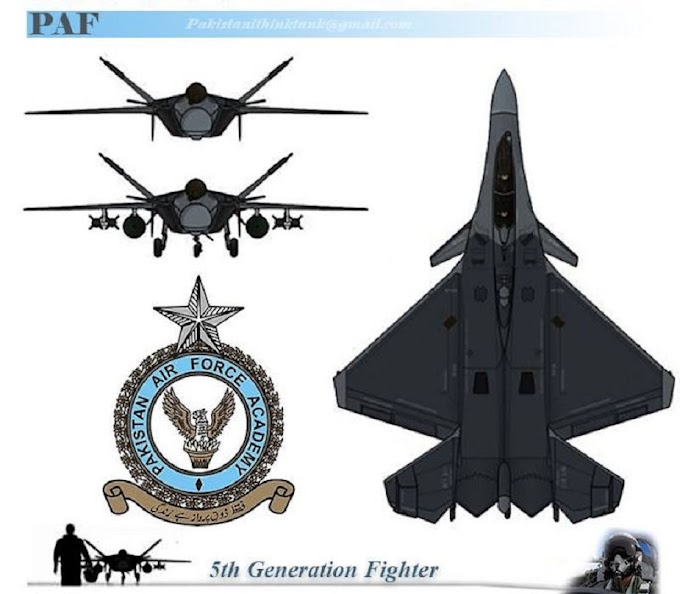 Pakistan's indigenous fifth-generation fighter aircraft completes initial conceptual design phase
