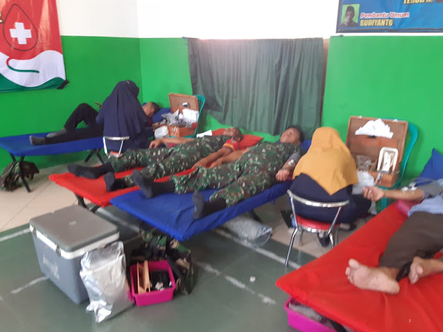 Aksi Peduli Batituud Mondokan Donor Darah