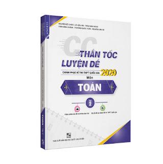 Thần tốc luyện đề 2020 môn Toán tập 2 ebook PDF-EPUB-AWZ3-PRC-MOBI