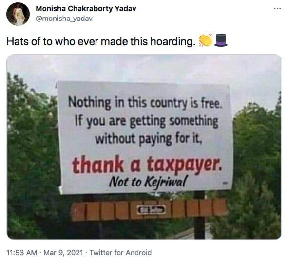 Jokes on tax taxpayers in India