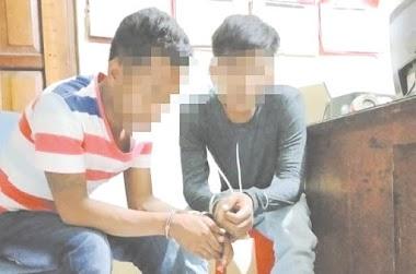 Polsek Kota Bukittinggi Ringkus Dua Pelaku Pemerasan Karyawan Pecel Lele