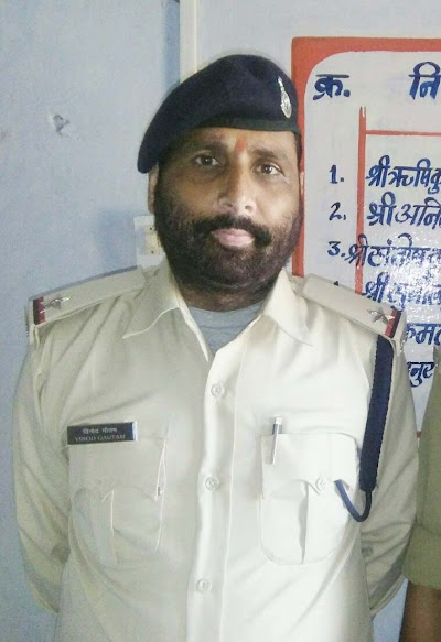 विनोद गौतम ने संभाला खोड़ चौकी का प्रभार