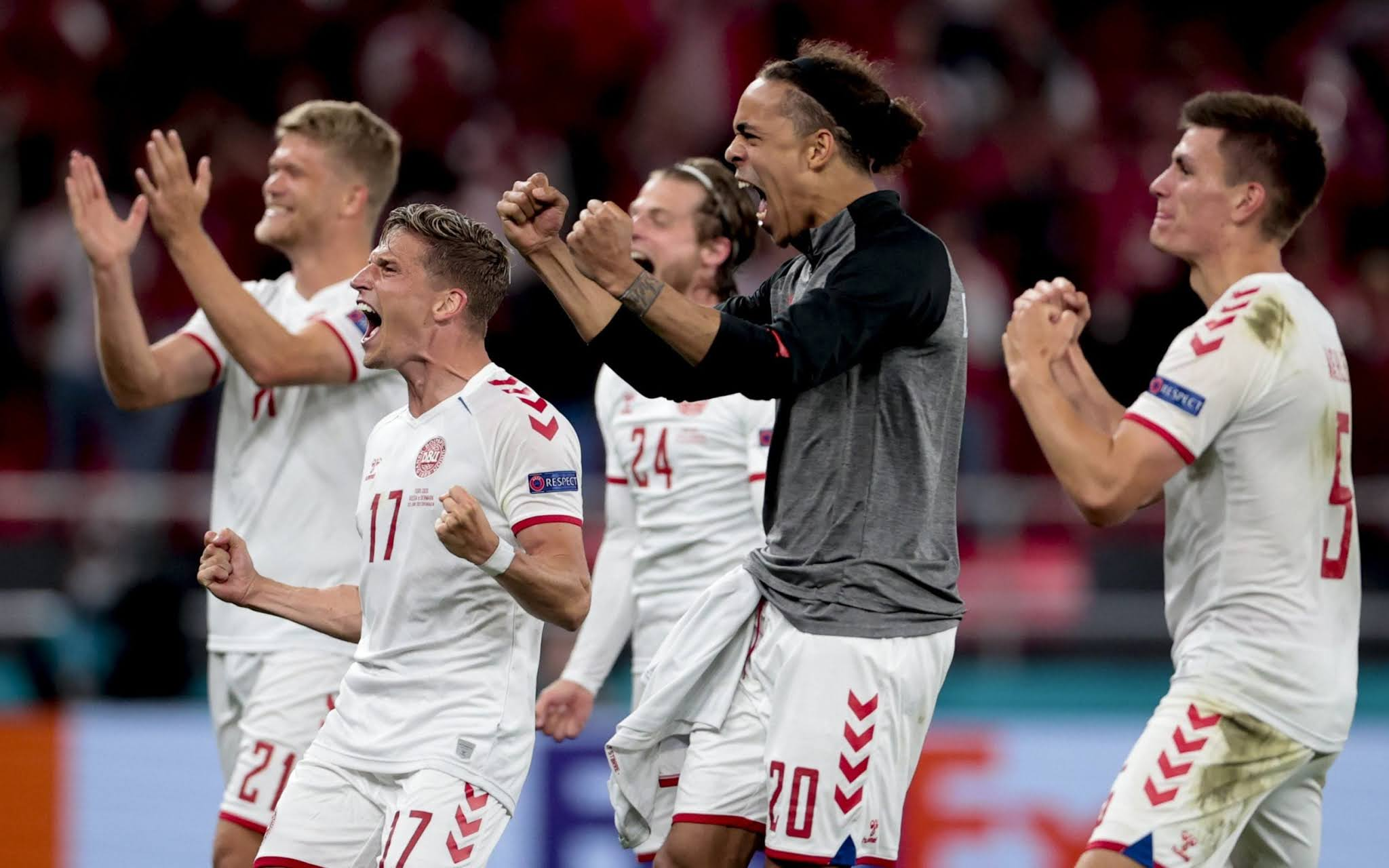 Denmark have turned their form around after a slow start to the tournament
