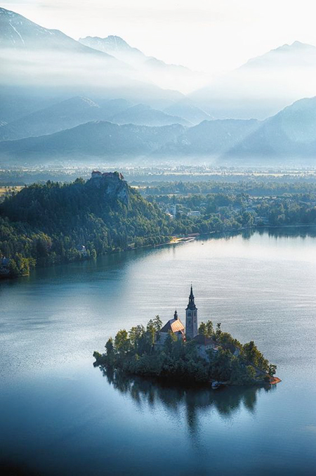 20 Days, 20 Cities, 6 Countries - Part 3: Lake Bled, Slovenia