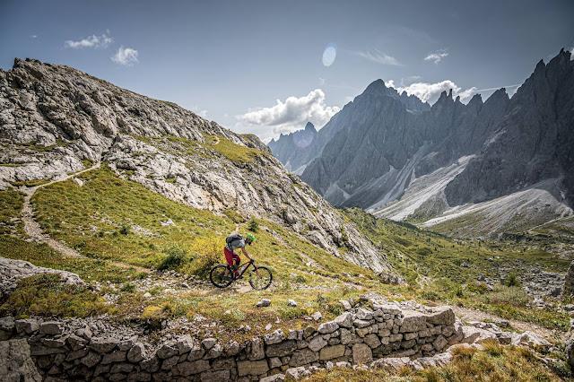 Mountainbike Tour: Arzalpen Sattel/ Dolomiten/ Kreuzbergpass MTB