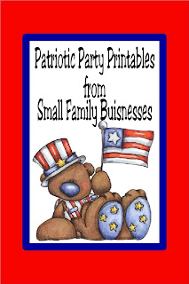 No matter what patriotic holiday you are celebrating, party favors and party decorations from small family businesses supports your party and the American dream.  Check out these party printables inluding patriotic party decorations, party invitations, and so much more. #patrioticparty #memorialdayparty #4thofjulyparty #diypartymomblog