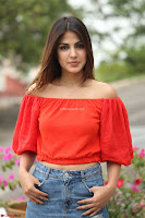 Rhea Chakraborty in Red Crop Top and Denim Shorts Spicy Pics ~  Exclusive 214.JPG
