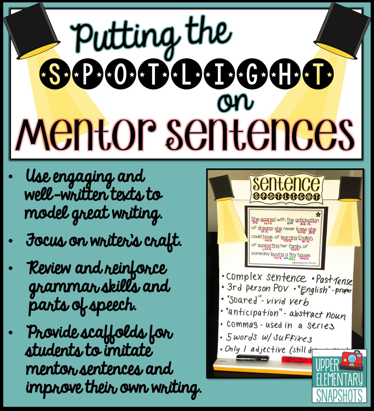 Daily Grammar Practice Sentences 5th Grade