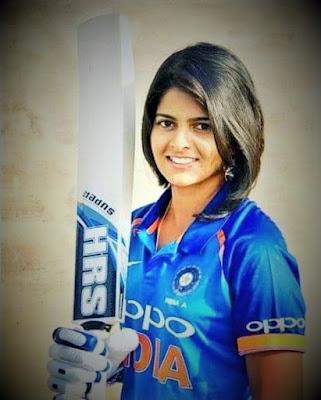 Indian women's cricket team player Priya Punia