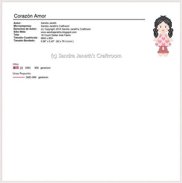 SJSC - BRD0001 - Corazón Amor, Corazón