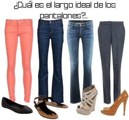 Hasta d nde debe ser el largo de los pantalones moda for Cual es el regalo perfecto para un hombre