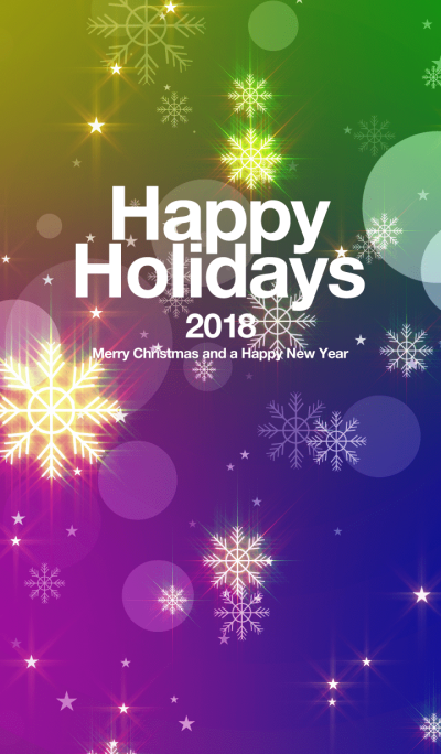 Happy Holidays 2018 glow#01