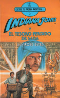 Tesoro perdido de Saba, Indiana Jones