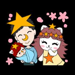 Yozora and Nekorin.Happy End.