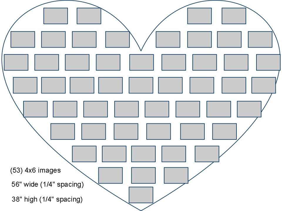 Marie Lotto Design: Meet the heart wall project