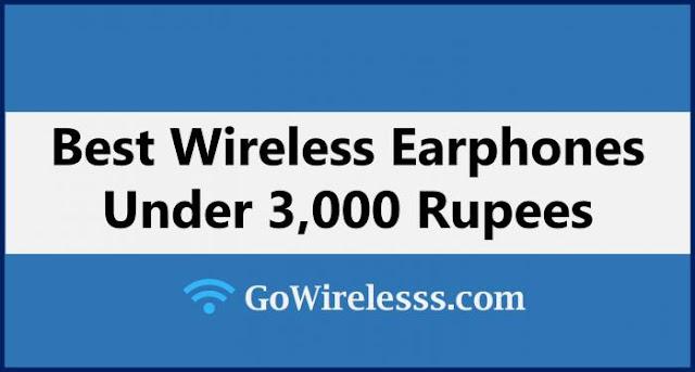 best wireless bluetooth earphones under 3000 in India