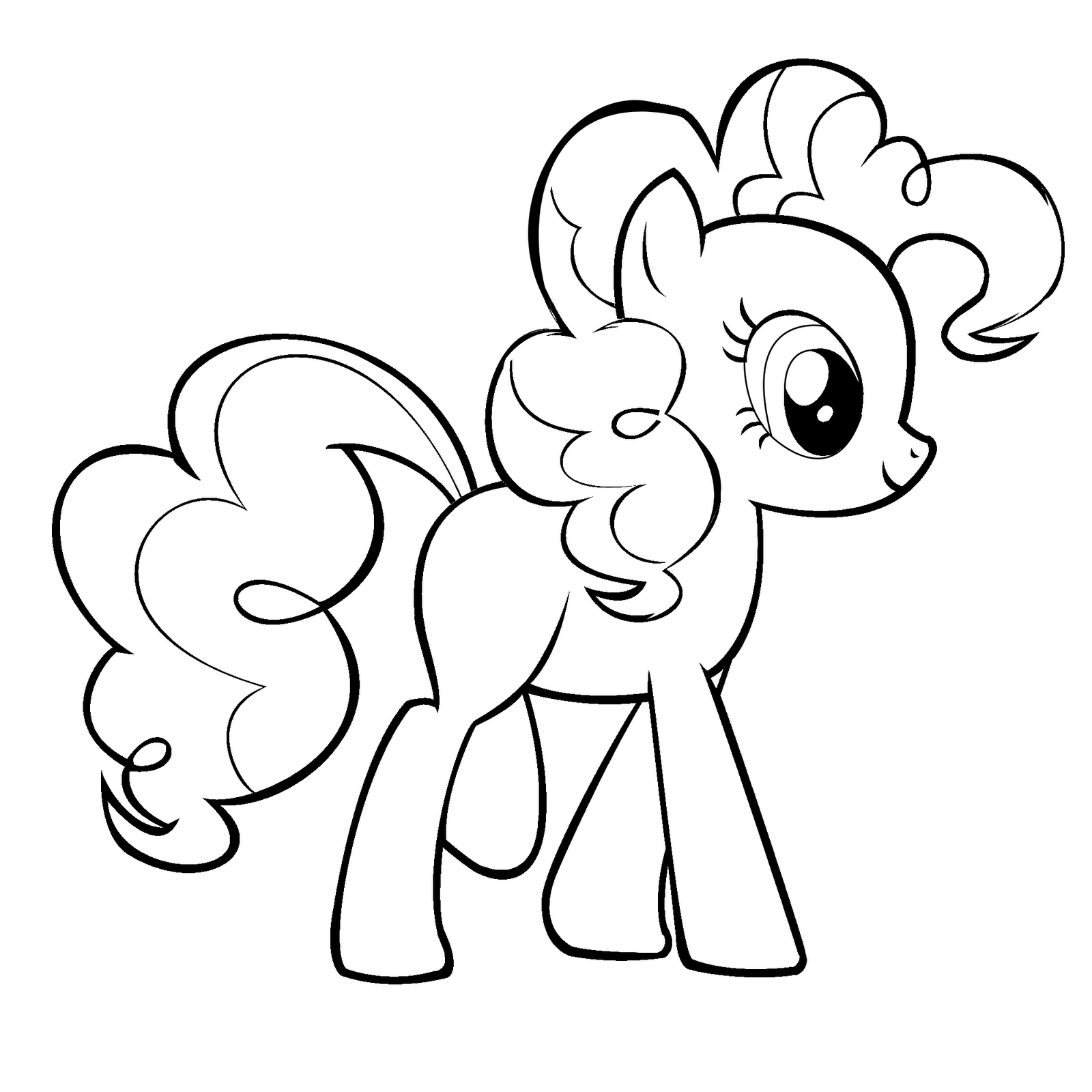 pinkie pie coloring page my little pony pinkie pie coloring pages